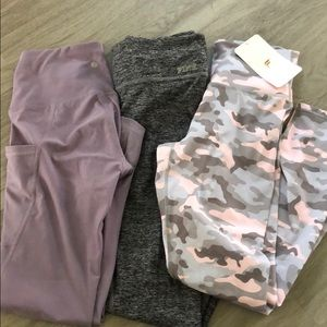 3 Leggings for the price of 1